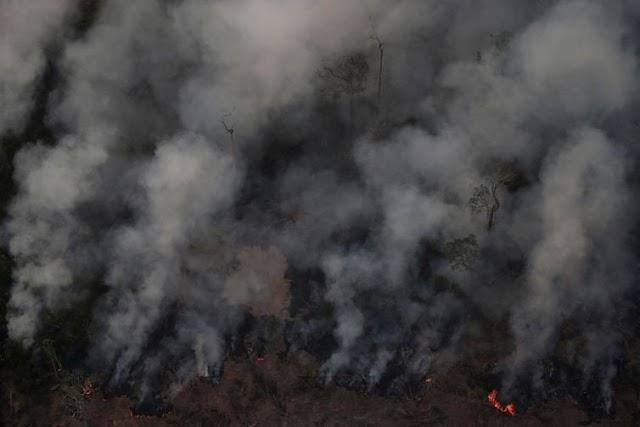 ONU está preocupada com queimadas na Amazônia