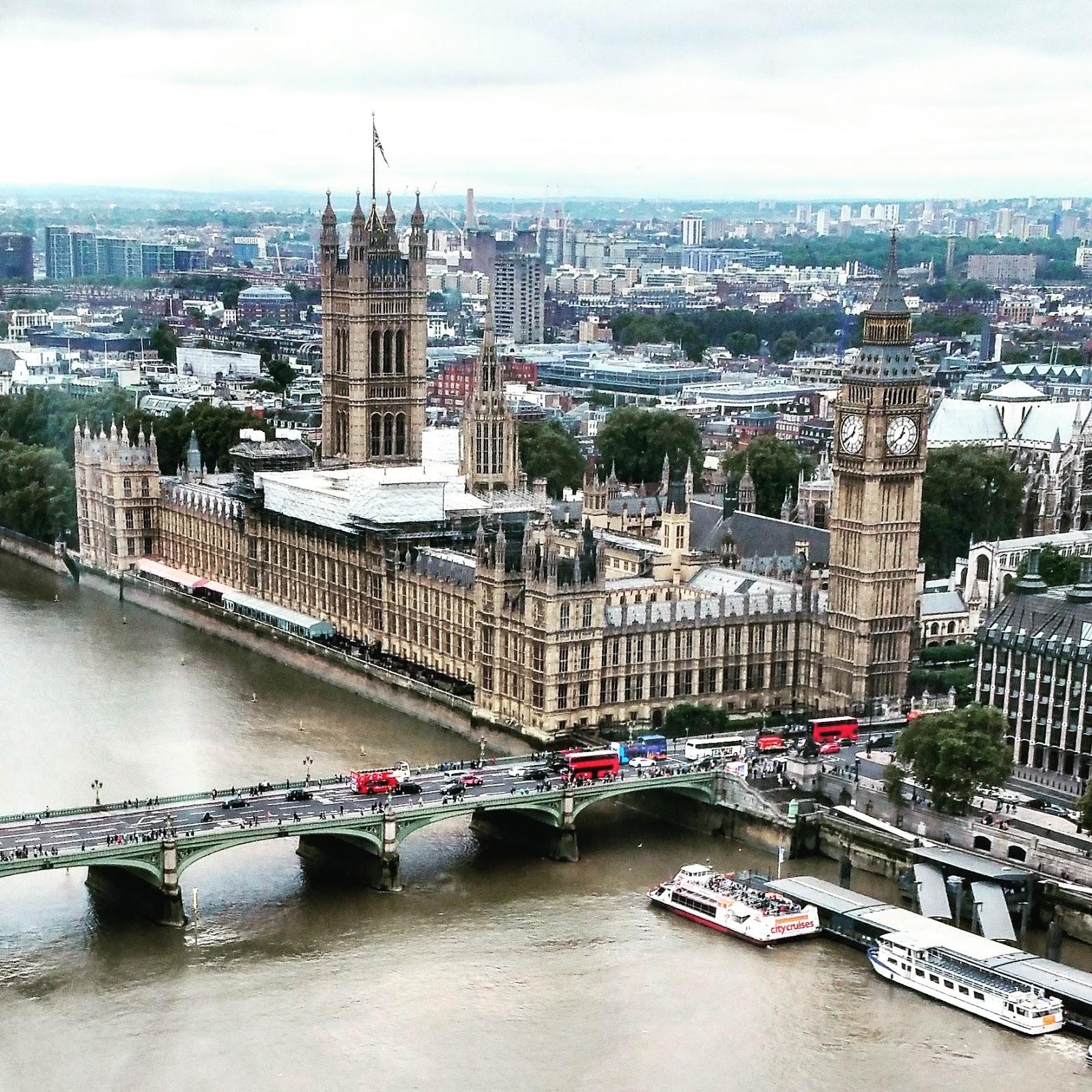 czy London Eye jest przystosowane dla osoby na wózku