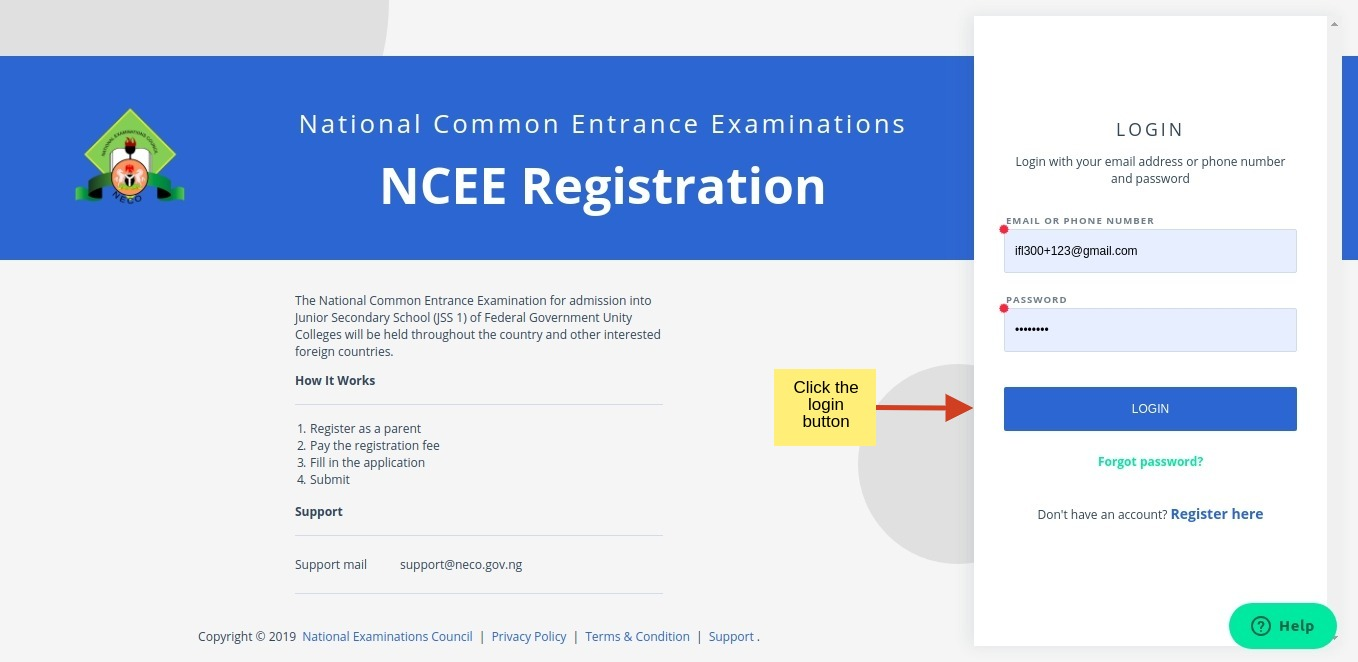 NCEE 2019/2020 Registration Form for Federal Unity Colleges [PHOTOS]