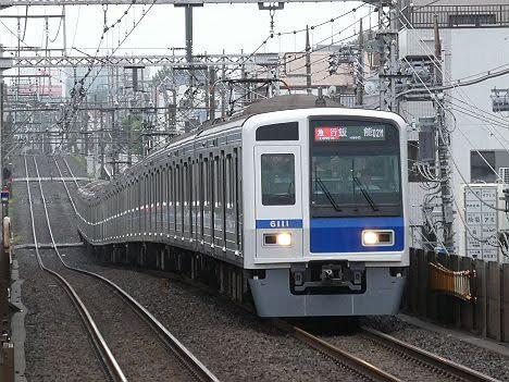 【ダイヤ改正で廃止!】西武6000系の東横急行 飯能行き
