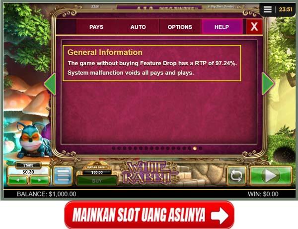 Contoh Letak Informasi Slot RTP Pada Game Slot Big Time Gaming