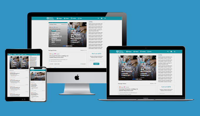 Lonemagz X2 Speed Responsive Blogger Template Free Download