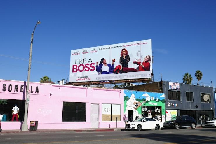 Like a Boss film billboard