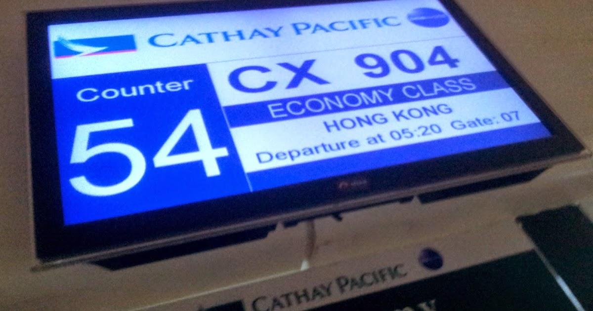 Flight Review Manila To Vancouver Via Hong Kong