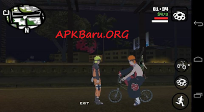 GTA San Andreas Modpack Naruto Apk For Android By Lutfi