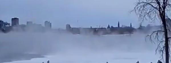 Ottawa golpeada por la tormenta de nieve más fuerte en más de 120 años, Canadá