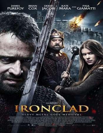 Poster Of Ironclad 2011 English 350MB BRRip 576p ESubs Watch Online Free Download downloadhub.net
