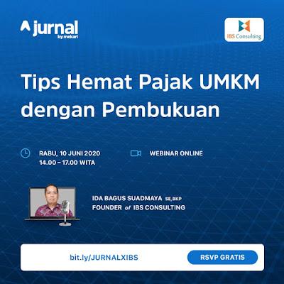 Founder IBS Consulting : Pembukuan itu Penting bagi Pelaku UMKM