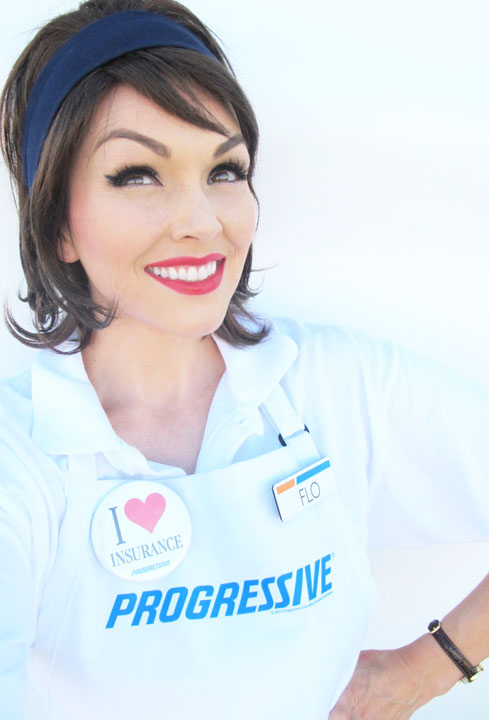Progressive Girl Costume