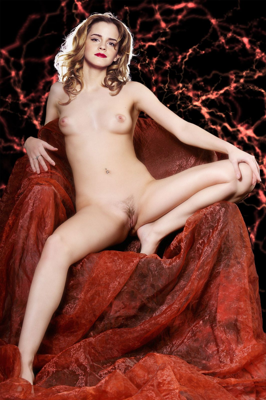 Emma Watson Nude Boobs Pussy