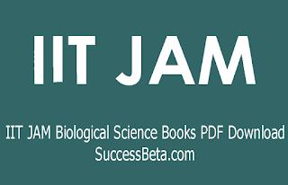 IIT JAM Biological Science Books PDF Download