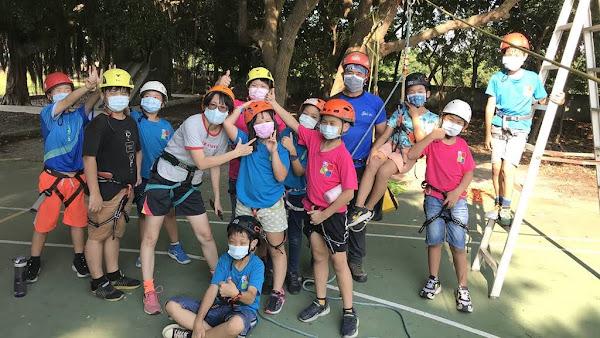 學校就是滑降場 香田國小探索課程五感體驗