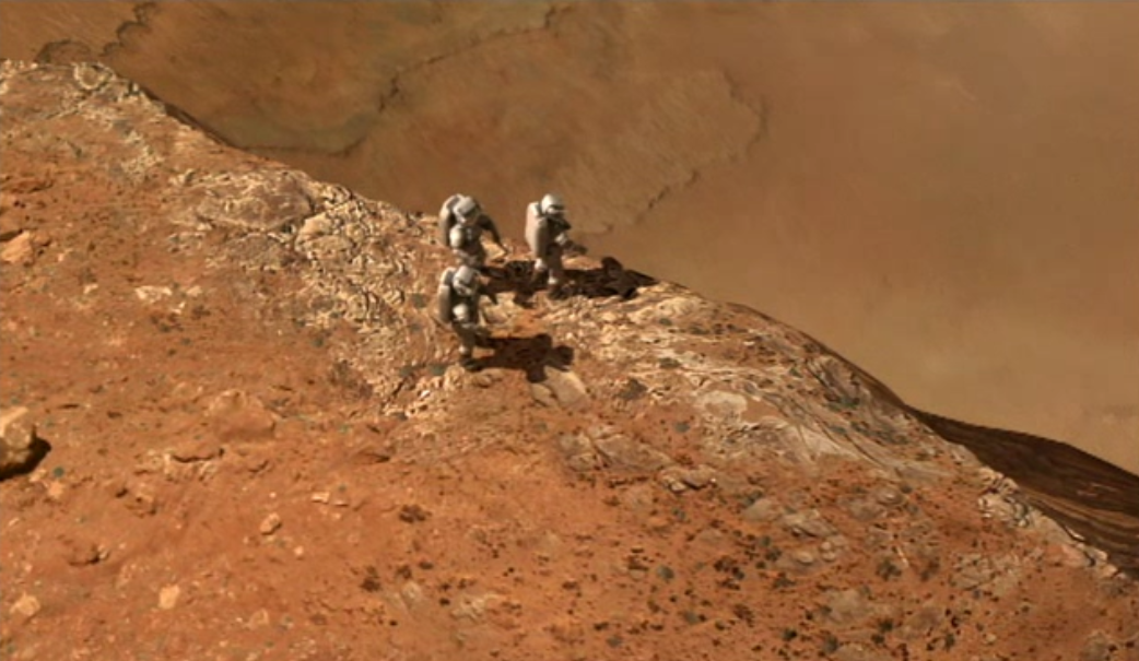 Astronauts on Mars