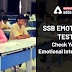 SSB Emotions Test: Check your Emotional intelligence