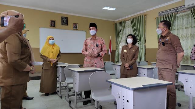 6 September Palembang Mulai Lakukan Sekolah Tatap Muka