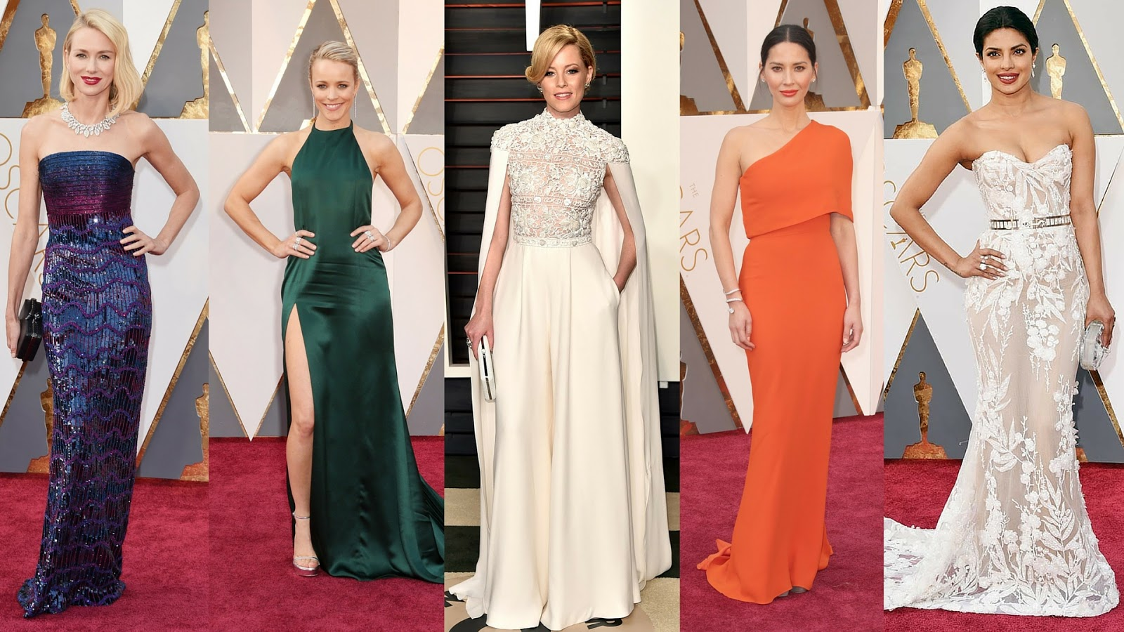 Favourite Looks From The Oscars 2016