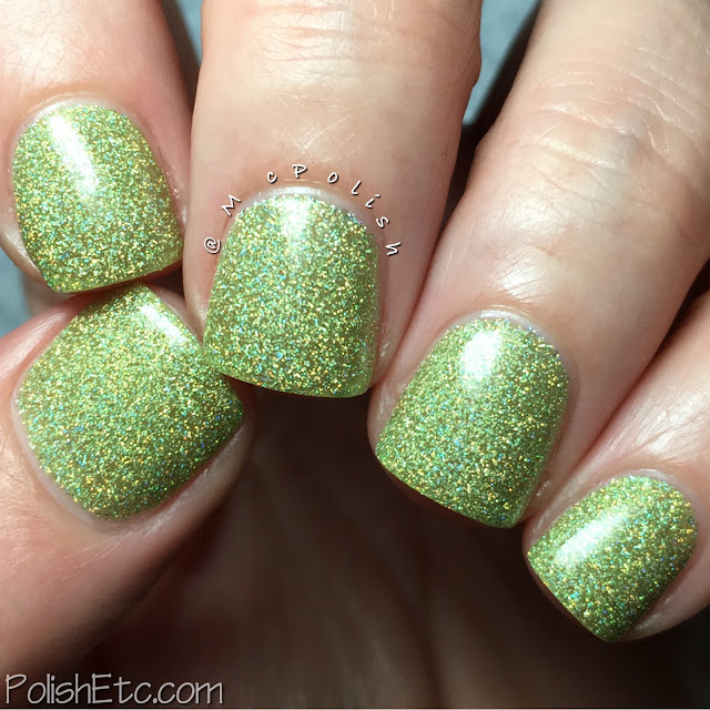 Nine Zero Lacquer - Spring 2016 Collection - McPolish - New Growth