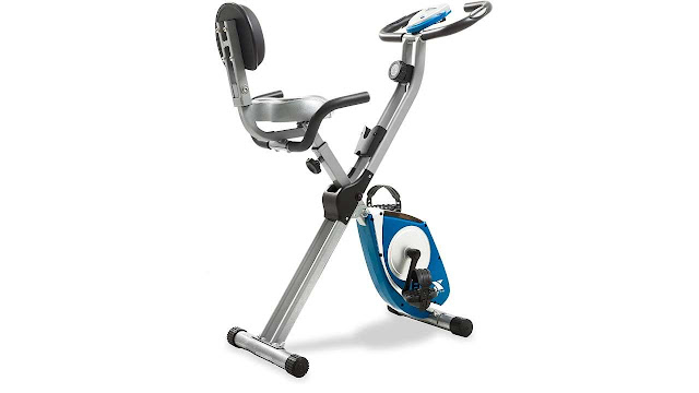 AFTON Xterra Fitness Folding Exercise Bike