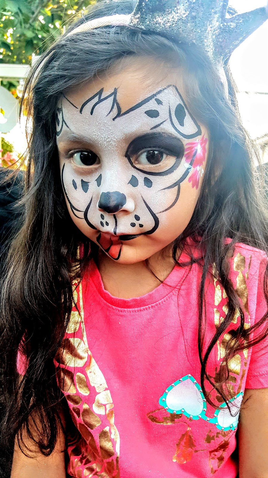 Face Painting In Arizona Dog Face Painting