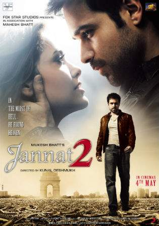 Jannat 2 2012 BRRip 400Mb Full Hindi Movie Download 480p Watch Online bolly4u