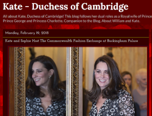 Read our Companion blog, Kate - Duchess of Cambridge