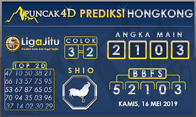 PREDIKSI TOGEL HONGKONG PUNCAK4D 16 MEI 2019