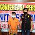 Tersangka Pengguna  Narkoba Sabu Ditangkap Polisi Medan Baru Dengan Digelangi Borgol Kedua Tangannya