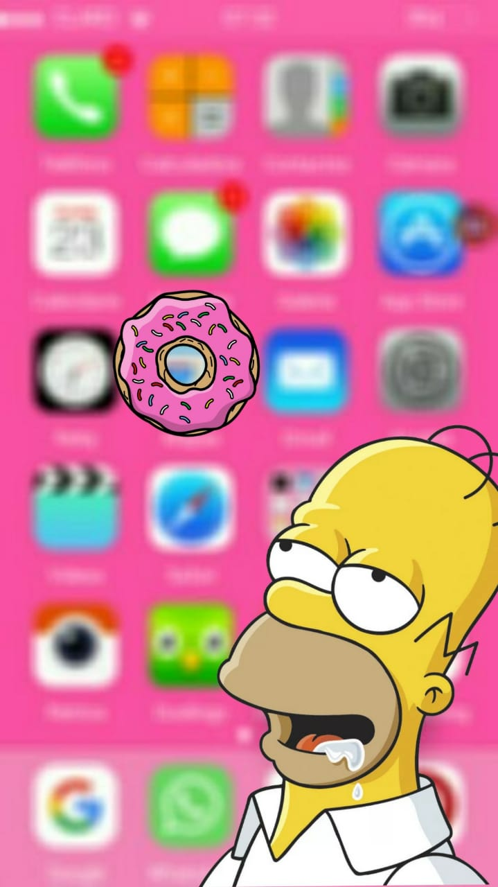 #simpson #wallpapersimpson #homero #homerosimpson