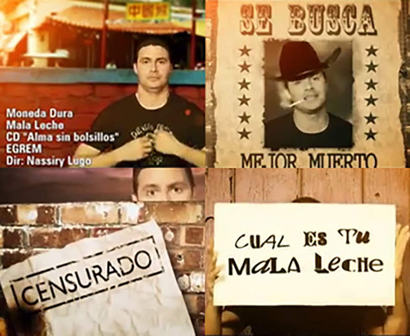 Moneda Dura - ¨Mala leche¨ - Videoclip - Director: Nassiry Lugo. Portal Del Vídeo Clip Cubano