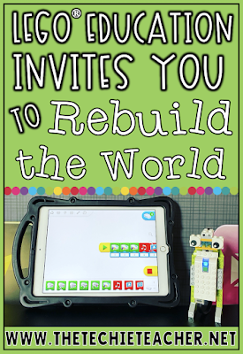 Come learn about Rebuild the World campaign that promotes  student mastery of necessary skills for the future. As educators we want to engage our students, foster their creativity, and encourage them to try new things in order to build their confidence to become lifelong learners. Through hands-on activities and coding, students have the capability of engineering incredible creations! #sponsored #RebuildTheWorld