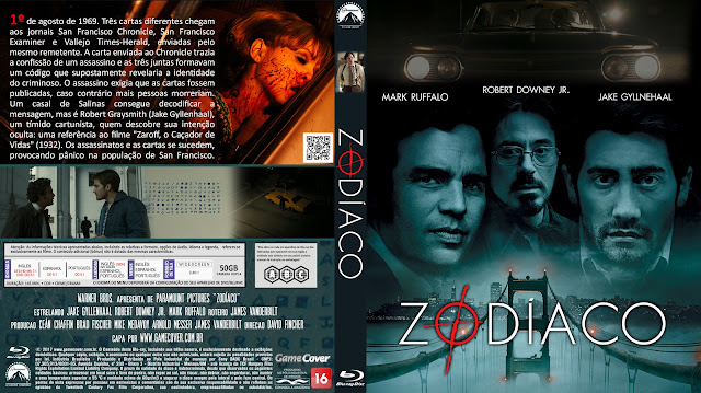Capa Bluray Zodíaco [Exclusiva]