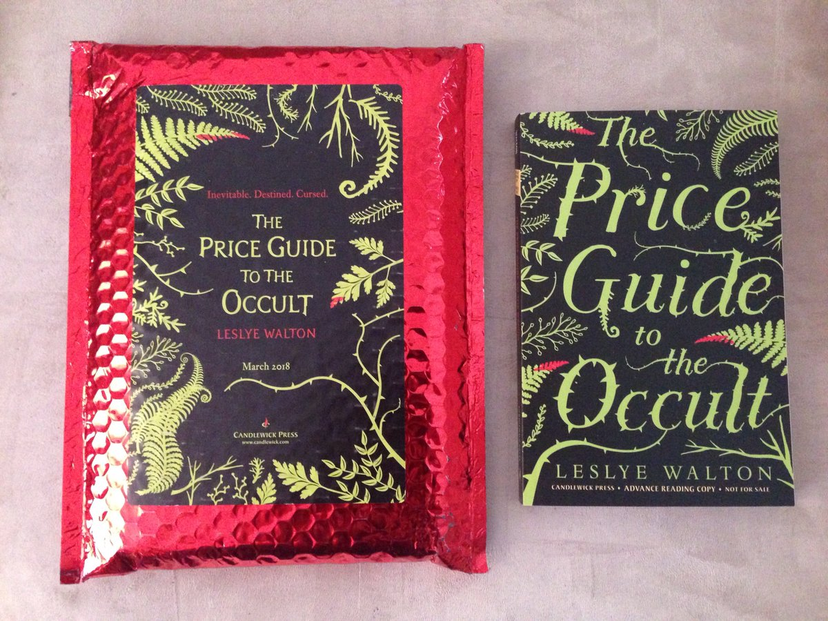 Bookish Delights: The Price Guide To The Occult by Leslye