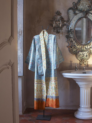 Kimono Luini de Bassetti Granfoulard.