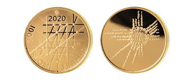 Turun Yliopisto 100 vuotta kultaraha 2020
