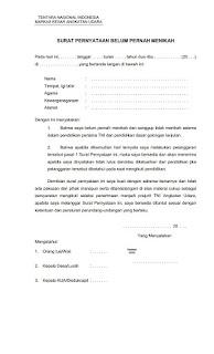 Kelengkapan Dokumen TNI 7
