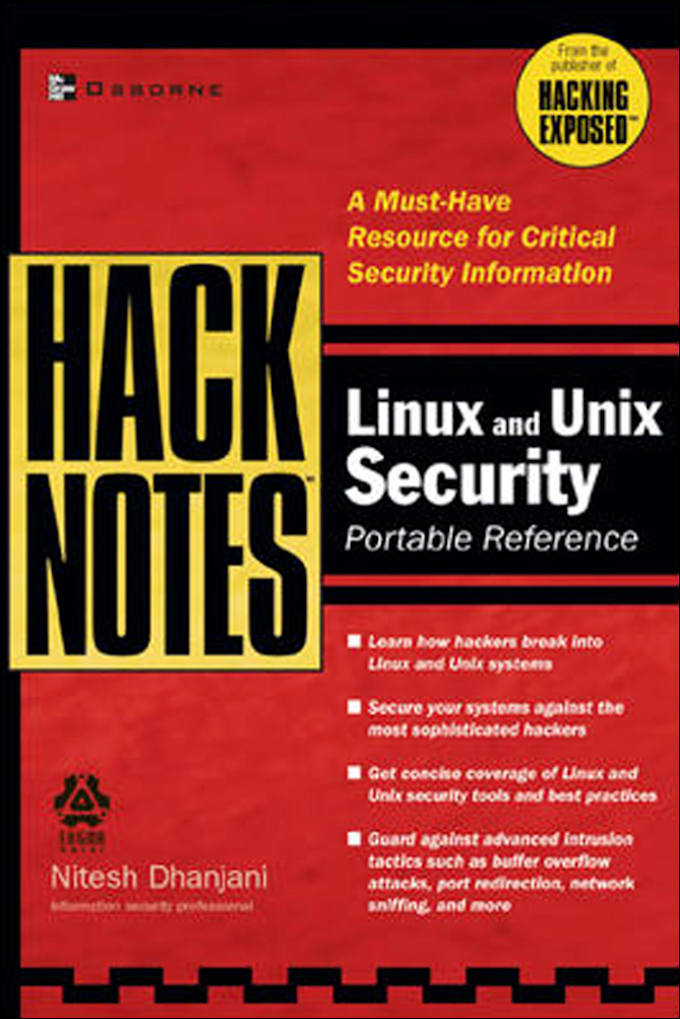 Linux and Unix Security: Portable Reference, McGraw Hill