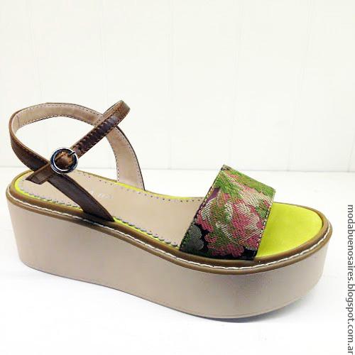 Moda verano 2017 sandalias y zapatos. Andrea Bo colección primavera verano 2017.