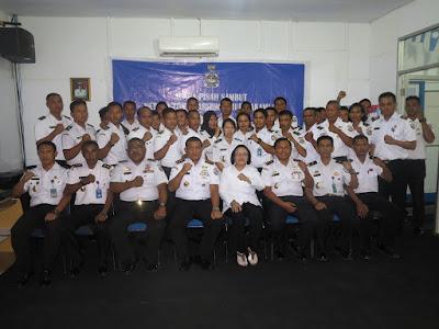 Pisah Sambut Kepala Kantor Kamla Zona Maritim Timur