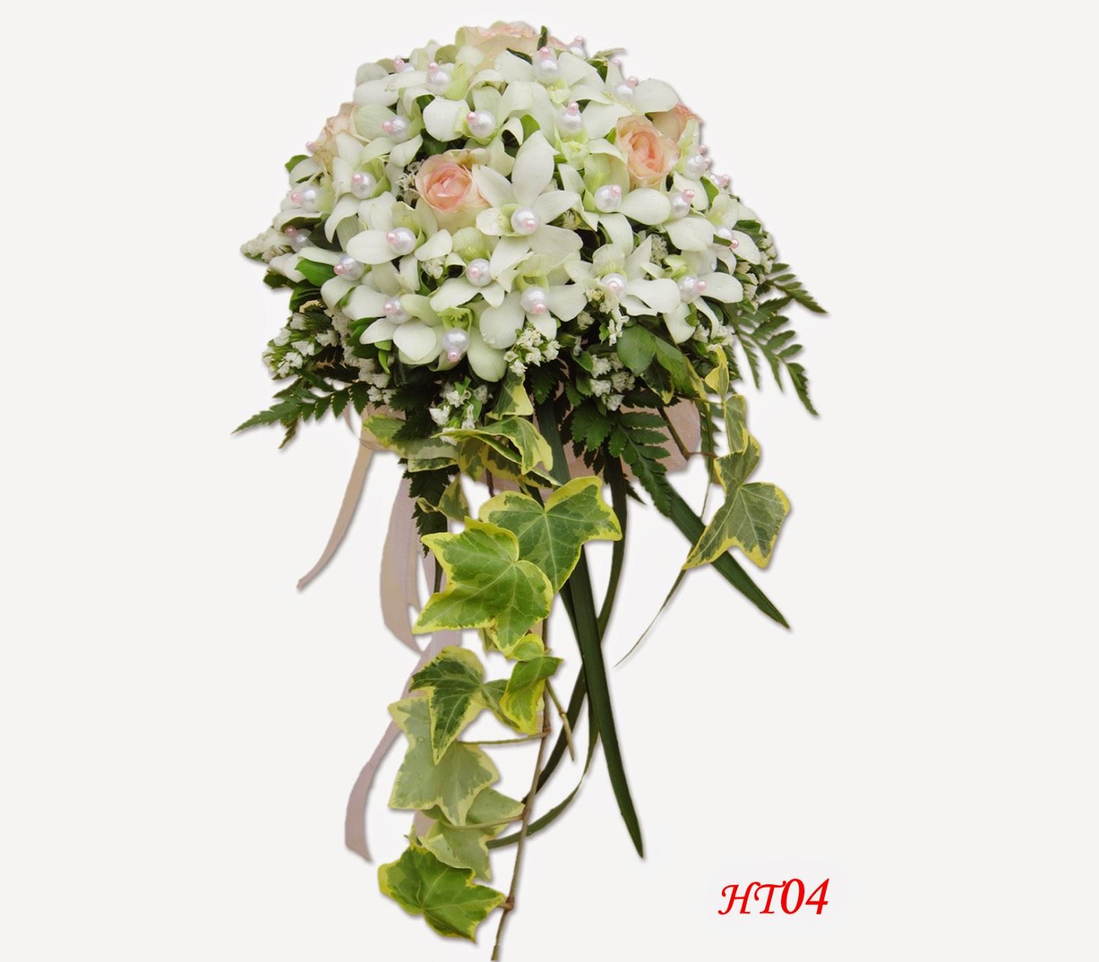 Hoa cầm tay cô dâu được ưa chuộng năm 2014