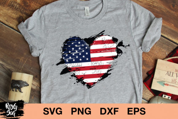 Distressed American Flag Free Svg Cut File For Cricut