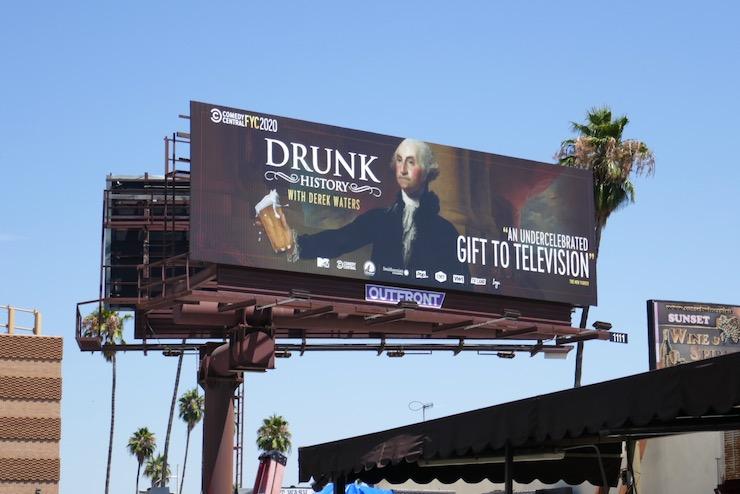 Drunk History 2020 Emmy FYC billboard
