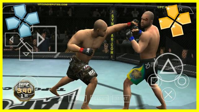تحميل لعبة القتال UFC Undisputed على محاكي psp