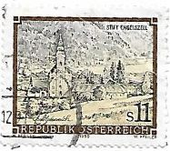 Selo mosteiro trapista de Engelszell