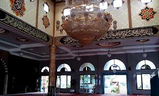 Jasa Kaligrafi Masjid Surabaya, Interior Kaligrafi Masjid, Harga Kaligrafi Masjid