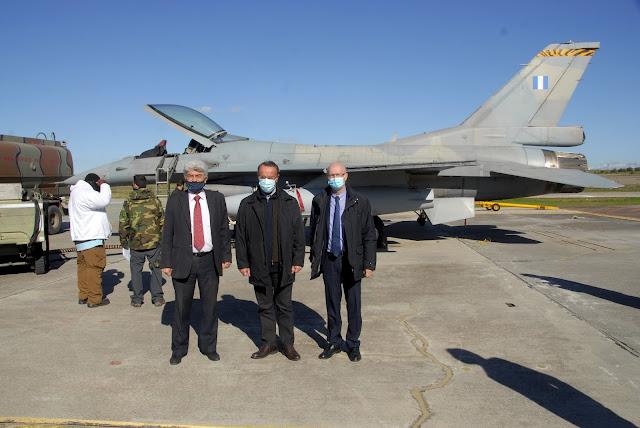 Ο Υπουργός Οικονομικών επισκέφθηκε τις εγκαταστάσεις της Ελληνικής Αεροπορικής Βιομηχανίας στην Τανάγρα(ΦΩΤΟ)