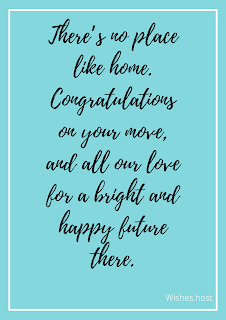 happy new home wishes