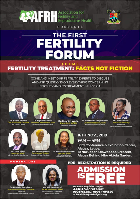 AFRH FERTILITY FORUM