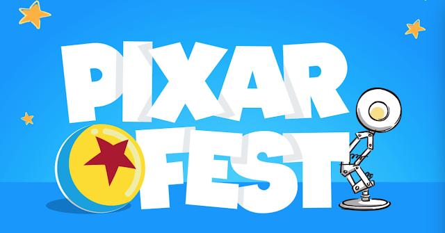 Pixar Fest Celebration New Products