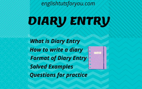 How to write a diary entry