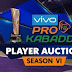 Pro-kabaddi 2018 Player Auction live